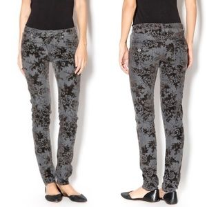 Dear John Flocked Velvet Denim Pants (30)